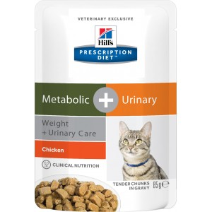 Hill's PD Metabolic + Urinary cat