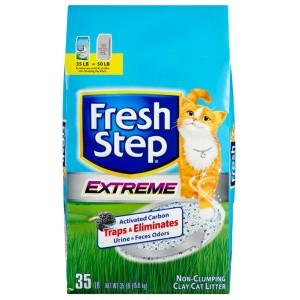 Fresh Step Тройной Контроль Запахов