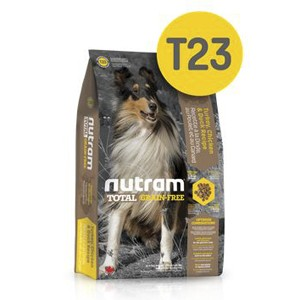 T23 Nutram Total Dog Беззерновой с Индейкой, курицей и уткой