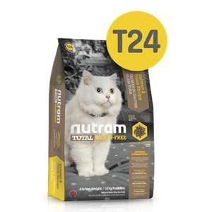 T24 Nutram Total Cat Беззерновой с Лососем и форелью