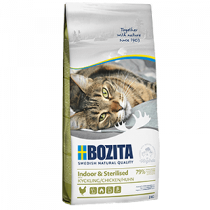 Bozita indoor & sterilised chiken