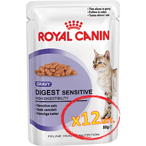 Royal Canin Digest Sensitive (кусочки в соусе) Cat