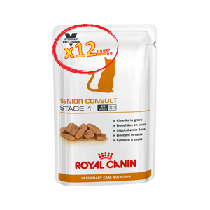 Royal Canin Cat Senior Consult Stage 1 Wet