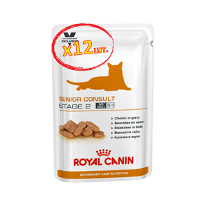 Royal Canin Cat Senior Consult Stage 2 Wet