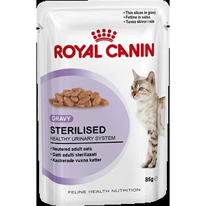 Royal Canin Sterilised (кусочки в соусе) Cat