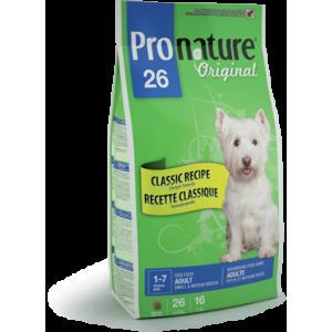 Pronature 26 Adult  Small & Medium Dog