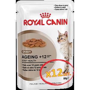 Royal Canin Ageing +12 (кусочки в соусе) Cat