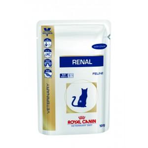 Royal Canin Cat Renal feline (курица) WET