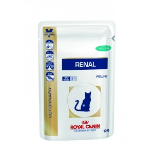 Royal Canin Cat Renal feline (тунец) WET