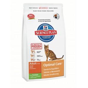 Hill's SP Feline Adult OptC Rabbit Cat