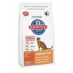 Hill's SP Feline Adult OptC Lamb Cat