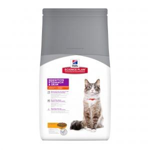 Hill's SP Feline Adult SensSkin Chicken Cat