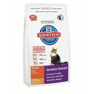 Hill's SP Feline Adult SensStomach Chicken Egg Cat
