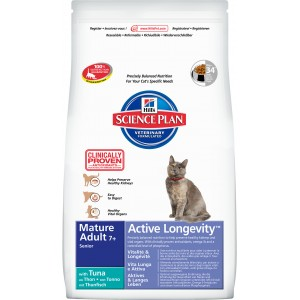 Hill's SP Feline MA7+ ALong Tuna Cat