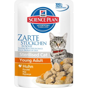 Hill's SP Feline SCat YAdult Chicken Cat Wet