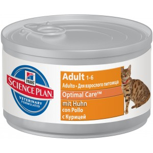 Hill's SP Feline Adult Chicken (cans) Cat