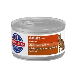 Hill's SP Feline Adult Turkey (cans) Cat
