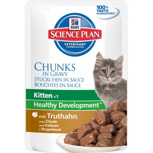 Hill's SP Feline Kitten Turkey Wet