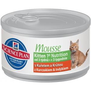Hill's SP Kitten 1st Nutrition Mousse (cans)