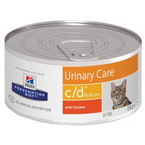 Hill's PD Feline c/d Multicare Minced with Chicken Cat