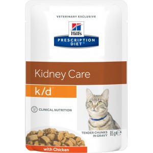 Hill's PD Feline k/d Chicken Wet Cat
