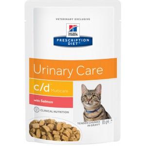 Hill's PD Feline c/d Multicare. Salmon Wet Cat