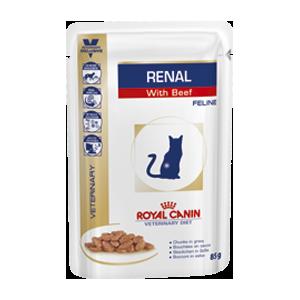 Royal Canin Cat Renal feline (говядина) WET