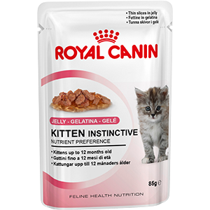 Royal Canin Kitten Instinctive (кусочки в желе)