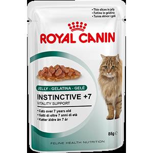 Royal Canin Instinctive +7 (кусочки в желе) Cat