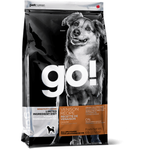 GO! Dog LI Sensitivity + Shine Venison